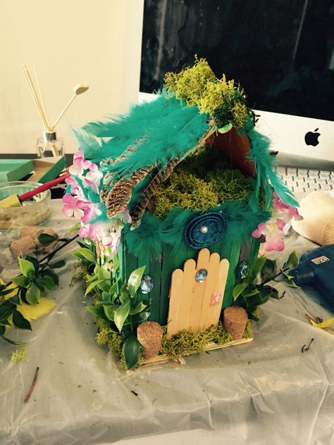 Fairy house diy made by me