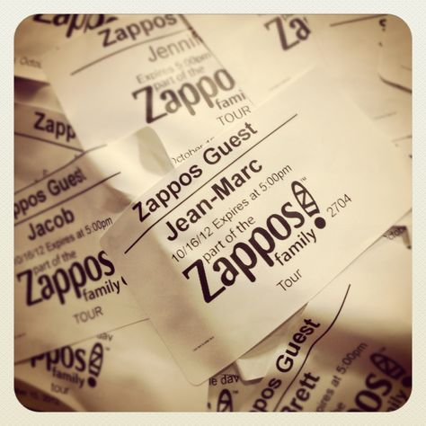 I'm part of the Zappos family !