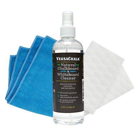 Versachalk Chalkboard And Whiteboard Cleaning Kit 10 Oz Walmart Com Liquid Chalk Markers Liquid Chalk Chalk Markers