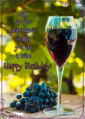 Happy Birthday Wine Happy Birthday Wine Wine And Spirits Wine