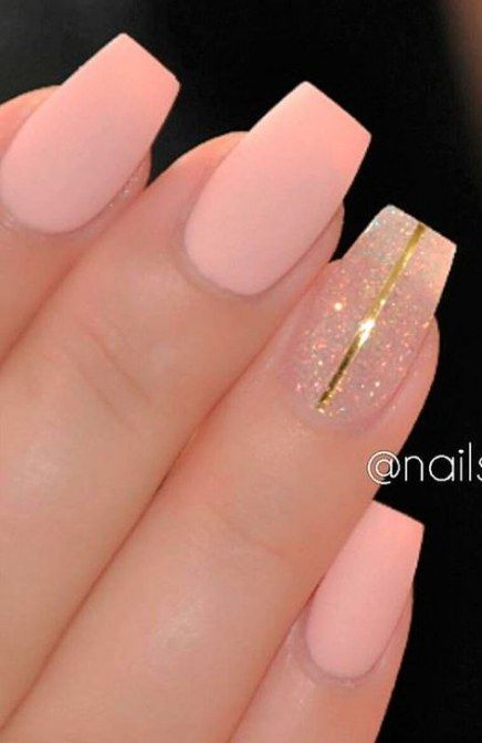 Nails Acrylic Medium Length Winter 24 Ideas Pink Nails Trendy Nails Pink Nail Designs