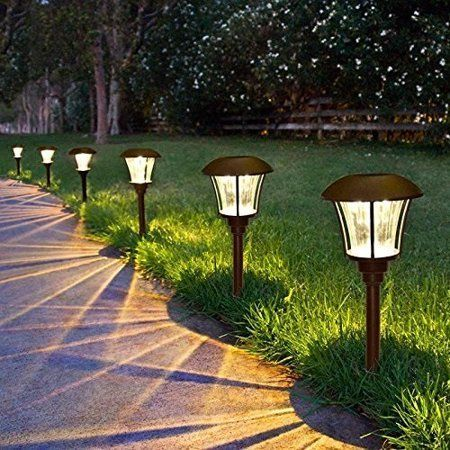 Garden Landscaping Lantern Lights Outdoor Pure Set Solar Solar Lights Ideas Outdoor Walk In 2020 Solar Lights Garden Best Solar Garden Lights Walkway Lighting