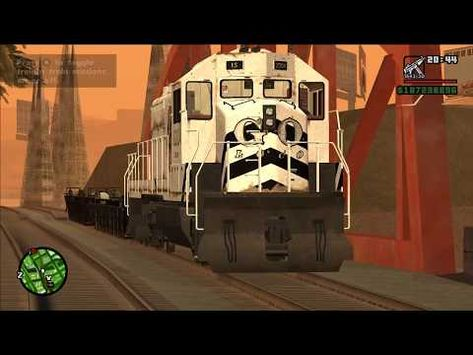 Gta San Andreas Pc Gta 5 Train Mod 1440p Youtube San Andreas Gta 5 Gta
