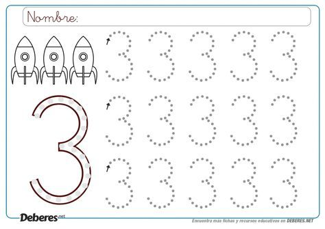Resultat D Imatges De Fichas Numero 3 Figuras Geometricas Para Preescolar Fichas Trazos De Letras