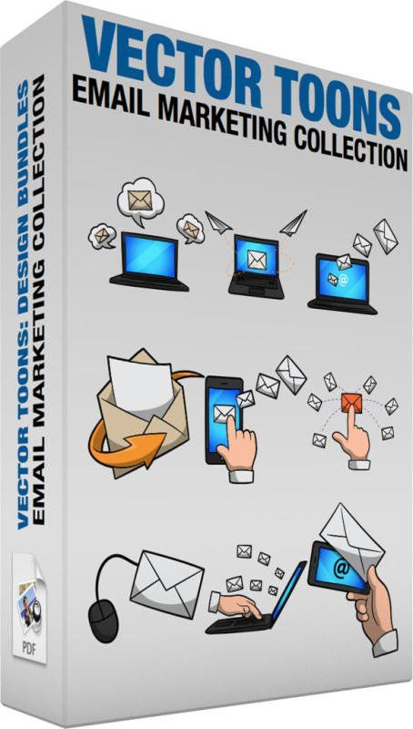 Email Marketing Collection Bundle Of Images Includes The Following A Laptop Receiving Emails A Black Laptop With Blu Email Marketing Marketing Phone Jokes