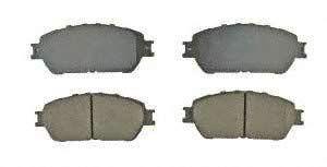 AMS Automotive 201-0906 Ceramic Brake Pad 4 Pack
