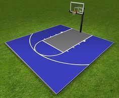Superbe Dunkstar DIY Home Game Courts Monthly Specials | Backyard Basketball Courts,  Residential Basketball Courts Outdoor