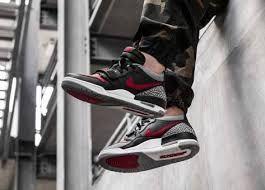 Nike Air Jordan Legacy 312 Low Bred Cement Herrenschuh Grau Schwarz Rot Cd7069 006 Nike Air Jordan Air Jordans Nike