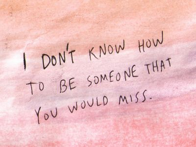 Yeah, if only I cared anymore. So over you.