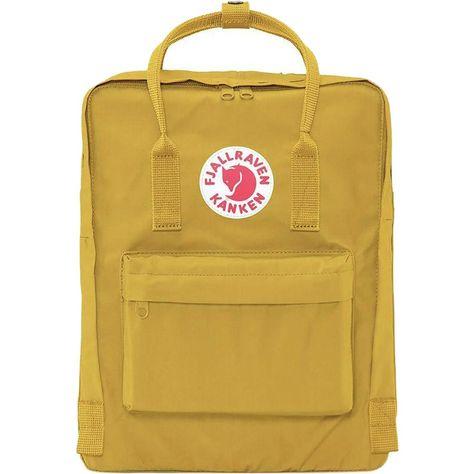 Fjallraven - Kanken 16L Backpack - Ochre