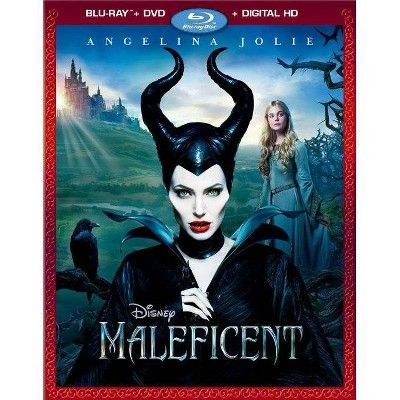 Maleficent (Blu-ray + DVD + Digital)