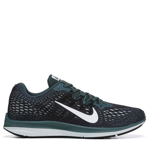 on sale 6b410 5334a Nike Mens Zoom Winflo 5 Running Shoes (Faded SprucePhantom)