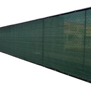 Fence4ever 92 In X 50 Ft Black Privacy Fence Screen Plastic Netting Mesh Fabric Cover With Reinforced Grommets For Garden Fence F4e B850fs A 90 The Home Dep In 2021 Privacy Fence Screen Fence