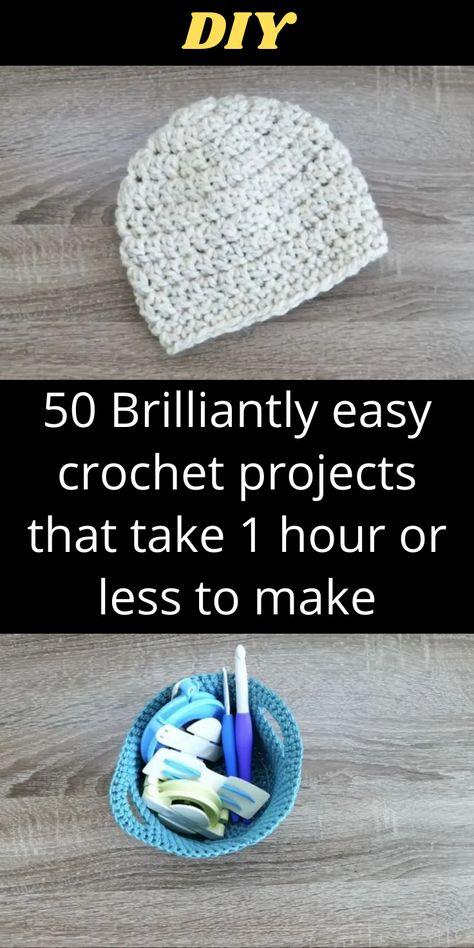 Quick Crochet, Learn To Crochet, Double Crochet, Easy Crochet Projects, Yarn Projects, Sewing Projects, Crochet Gifts, Crochet Yarn, Easy Crochet Bookmarks