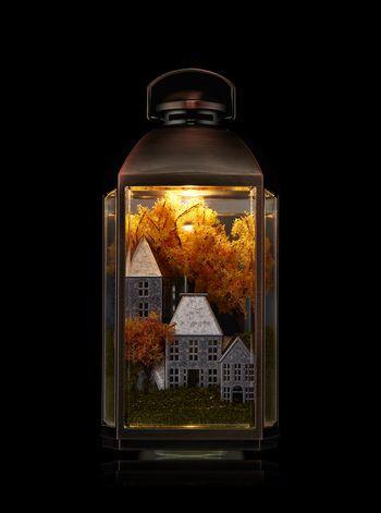 Fall Lantern Scene Nightlight Wallflowers Fragrance Plug Decorative Night Lights Fall Lanterns Best Night Light