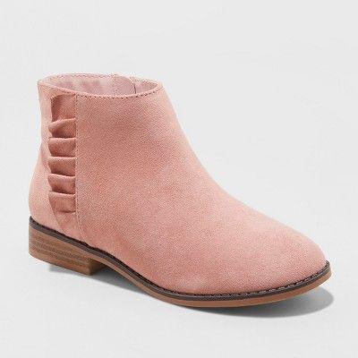 Girls' Euna Ankle Boots - Cat \u0026 Jack