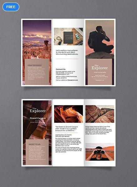 Free A5 Brochure Template Brochure Design Layout Brochure Graphic Brochure Design