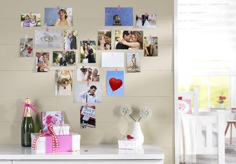 Spectacular Deine Hochzeitserinnerungen als Wanddeko in deinem Wohnzimmer hochzeit cewe wanddeko diy Wall art f r dein Zuhause Pinterest