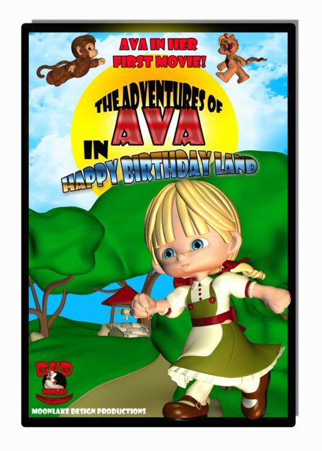 Ava Birthday Card Dvd Box Spoof Card With Images Birthday Cards Spoofs Special Cards
