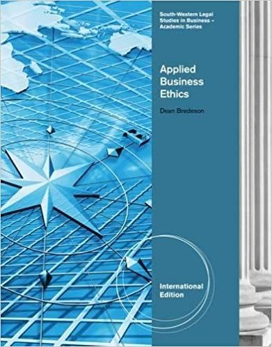 Instructor S Manual For Title Applied Business Ethics A