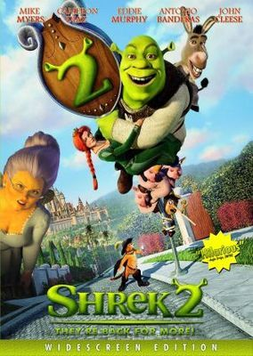 Shrek 2 Poster Id 633156 Shrek Animated Movie Posters Cartoon Movies