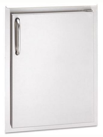 Aog 24 17 Ssdr 17 Inch Right Hinged Single Access Door Vertical Outdoor Appliances Outdoor Kitchen Outdoor Kitchen Kits