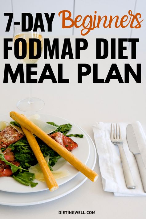 If you experience the symptoms of either IBS or FGIDs such as: excessive gas bloating distension abdominal pain diarrhea or constipation you may want to use the FODMAP diet. Here is a 7 day FODMAP diet plan that is IBS friendly. Food Map Diet, Whole Food Diet, Diet Food List, Food Lists, Diet Menu, Diverticulitis Diet, Ibs Diet, Dukan Diet, Fodmap Recipes