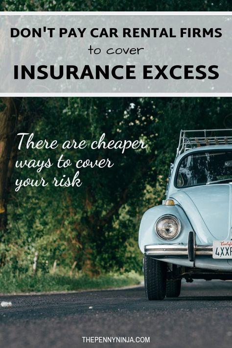 Penny Ninja Save Money Rental Car Insurance Rental Car