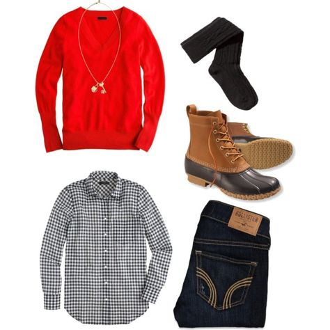 #ootd #outfits #preppy #beanboots #Sweater