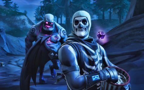 حيث أن Skull Trooper هو الزي الثاني في قائمة السكنات الأكثر شهرة بين المتسابقين لذلك أصبحت خلفيات فورت نايت سكلتون Gaming Wallpapers Skulls Drawing Fortnite