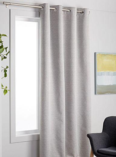 Natural Tone Blackout Curtain 140 X 220 Cm Cool Curtains