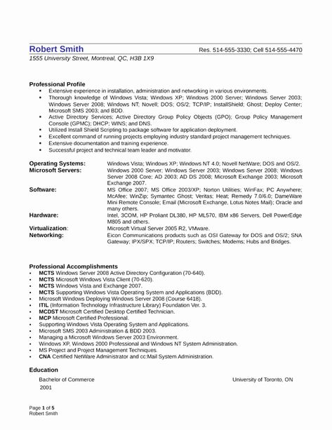 27 System Admin Resume Example In 2020 Resume Resume Examples Sample Resume