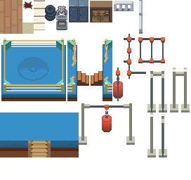 Dot Day20 Veilstone Gym Tiles By Phyromatical On Deviantart Game Concept Art Pixel Art Building Art