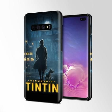 Tintin Poster Wallpaper Samsung Galaxy S10 Plus Case Casacases In 2020 Samsung Wallpaper Samsung Galaxy Galaxy