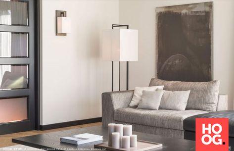 Moderne woonkamer inrichting met design meubels to je to