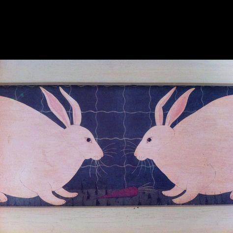 Warren Kimble rabbits