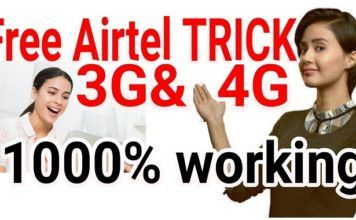 Hello Friends, this article is on airtel 4g unlimited data hack  As