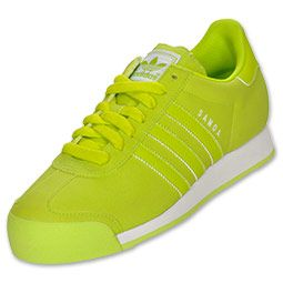 Lime Green Adidas Samoa Shoes