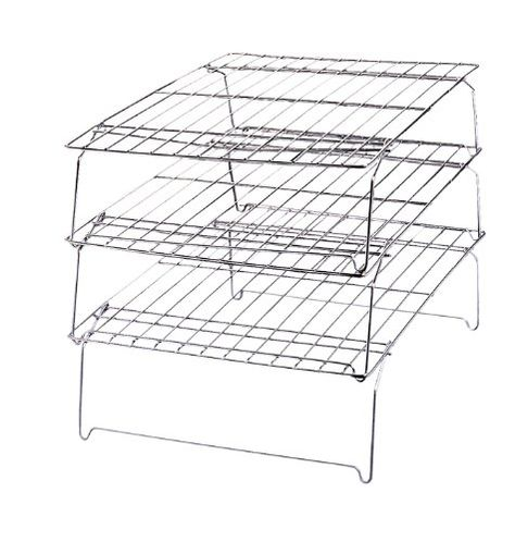 Wilton 3 Piece Stackable Cooling Rack Awesome Deals Baking Accessories Baking Accessories Wilton