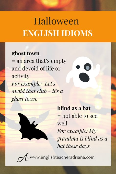 halloween is just around the corner learn how to speak about halloween in english using these english words click the link below to watch the full video