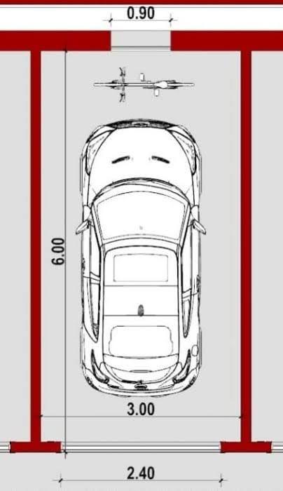 Dimensiones De Garage Para 2 Autos Busqueda De Google In 2020 Arch Interior Garage Design