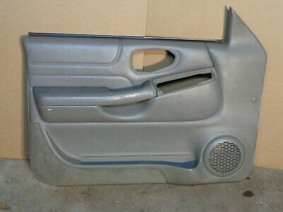 Ad Ebay 98 04 Driver Door Panel Jimmy Blazer Pewter Grey Leather H74 Pewter Grey Panel Doors Grey Leather