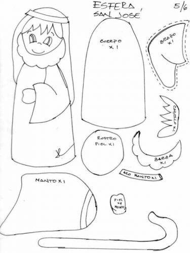 Aprende Cómo Hacer Un Portal De Belén Hecho En Fieltro Pesebre En Fieltro Figuras Navideñas De Fieltro Manualidades Navideñas Para Niños