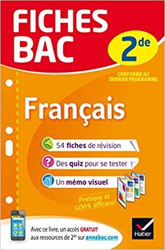 Telecharger Fiches Bac Francais 2de Fiches De Revision