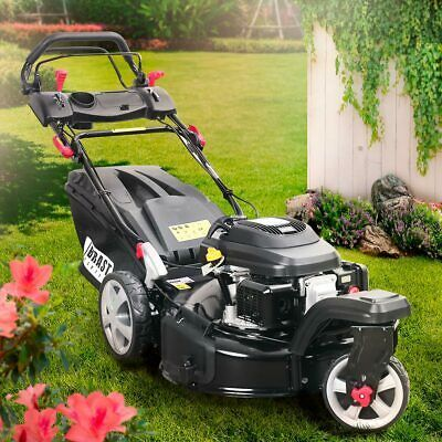 Brast Benzin Rasenm Auml Her Trike 4 4kw 6ps Radantrieb 53cm In 2020 Rasenmaher Roboter Test Rasenmaher Benzin Rad