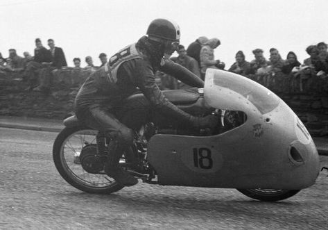 Angelo Copeta (MV) 1955 Ultra Lightweight TT. 10 inch Photo. Italian Angelo Copeta (MV) 1955 Ultra Lightweight TT.