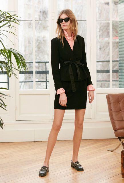 6c5670e0f10a Manteau Couture Robe Rosilea Pierlot Veste Et WBnS1Xxwn