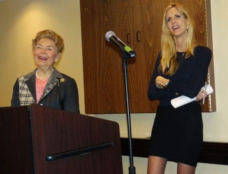 Phyllis Schlafly and Ann Coulter