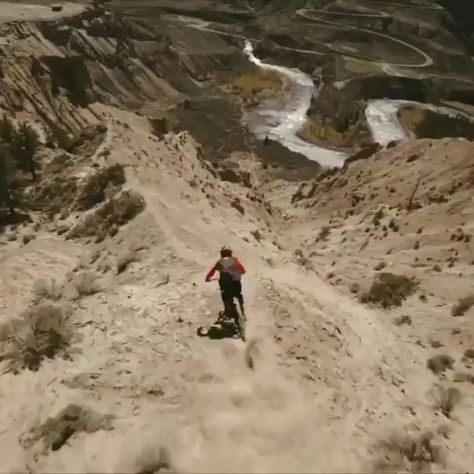 bike on mountain video