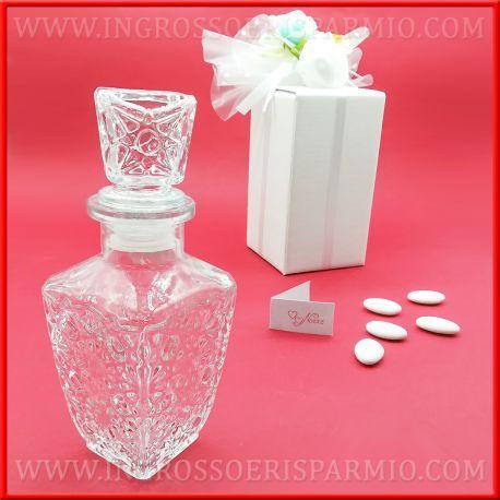 Bomboniere Matrimonio Liquore.Bottiglie Vetro Per Liquori Tappo A Sfera Matrimonio Originali